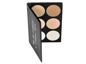 Палитра пудр и корректоров New Air Cosmetics 6 Contour Blush