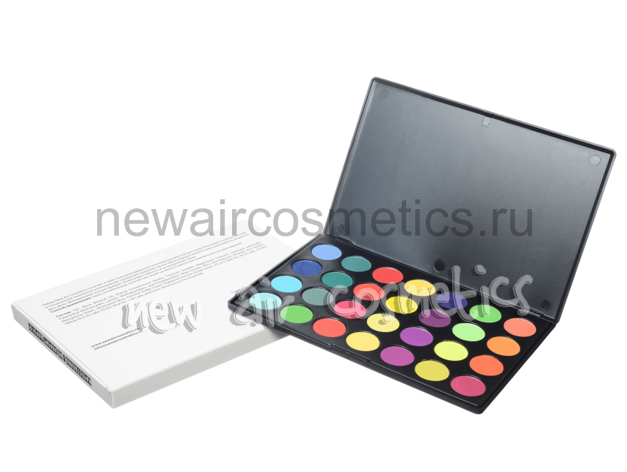 Палитра теней New Air Cosmetics 28 Neon